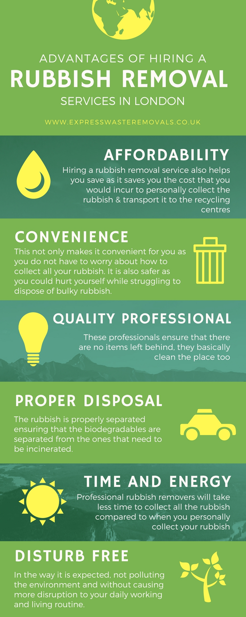 Express Waste Removals Infographic