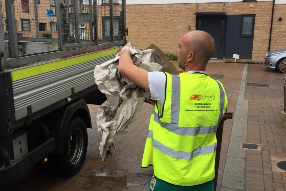 Rubbish removal recycling