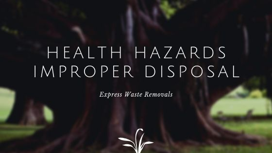 Health Hazards Caused by Improper Disposal